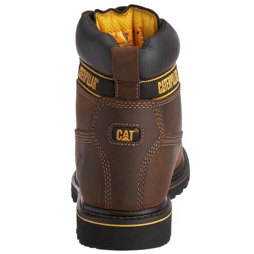 Caterpillar - Holton Sb - Bottes de Sécurité - homme Marron (Chocolate) 46 EU 24