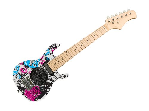 Guitarra eléctrica con bafle Monster High