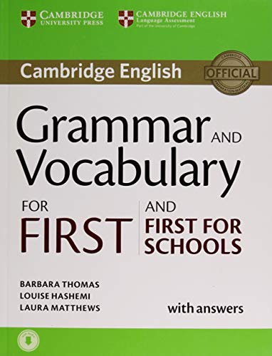 Grammar and Vocabulary for First and First for...