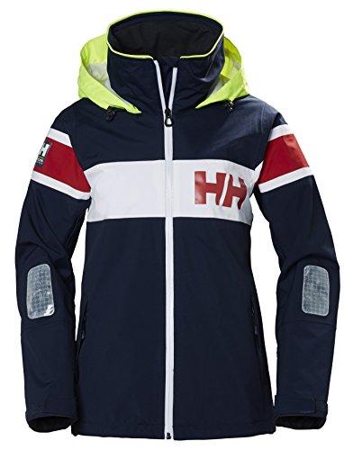 Helly Hansen Damen W Salt Jacket Trainingsjacke, Blau (Azul 597), Large