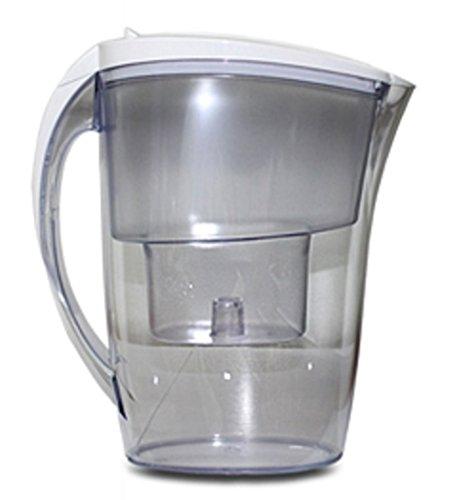 FilterLogic FJ402 2.4L water filter jug with cartridges bundle (white) (1 month of FilterLogic FL402) (1 cartridge)