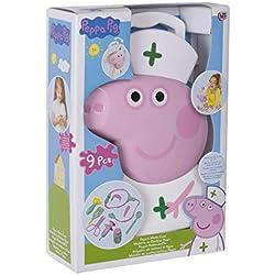 Tavitoys- Peppa Pig maletín Enfermera 26x17cm, (1680651)