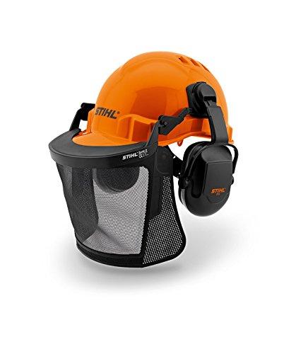 Stihl Basic Function con Casco Forestal de Rostro y Protectores auditivos