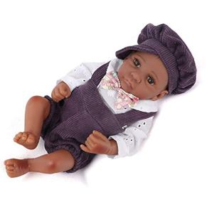 Realista Mirando Realista Muñeca recién nacida con ropa Sombrero Rewborn Guardería Bebé Muñeca viva Bebé Niños pequeños…