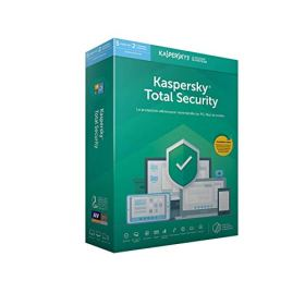 Kaspersky Total Security 2019 (5 Postes / 1 An)|2019|5 appareils|1 AN|PC/Mac/Android|Téléchargement
