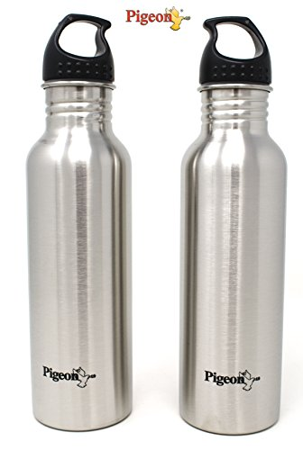 Pigeon Stainless Steel Water Bottle 750ml (Set of 2)