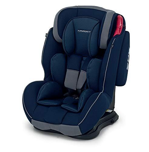 Foppapedretti Dinamyk 9-36 Seggiolino Auto, Blu Ocean, Gruppo 1/2/3 (9-36 Kg)  per Bambini da 9 mesi a 12 anni circa
