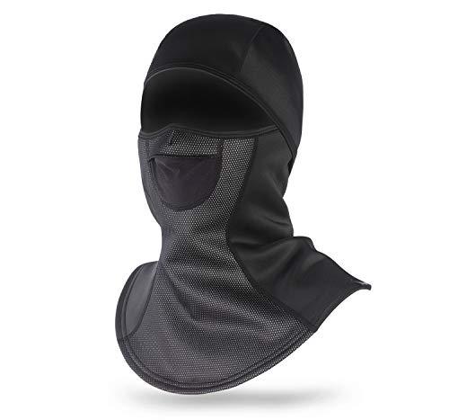 Unigear Pasamontañas Balaclava A Prueba De Viento Máscara De Invierno para Moto, Ciclismo, Escalada, Caza, Esquí, Al Aire Libre (L)