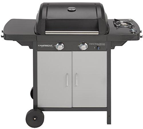 Campingaz BBQ Gas 2 Series Classic EXS Vario Grill Barbecue a 2 Bruciatori con Bruciatore a Lato,...