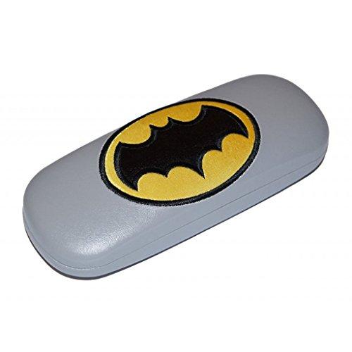 'Carino Custodia per occhiali per bambini'Batman con cerniera in metallo in Nero O Grigio grau