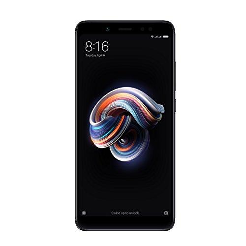 """Xiaomi Redmi Note 5 - Smartphone de 5.99"""" (Snapdragon Octa-core 636, memoria interna de 32 GB, 3 GB de RAM, cámara de 13, MP, Android) negro [versión española]"""