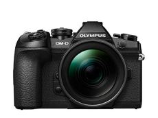 """Olympus OM-D E-M1 Mark II - Cámaras EVIL de 20.4"""" (hasta 60 fps por segundo y sistema de enfoque por detección de fase en chip con 121 áreas) - kit cuerpo con objetivo M.Zuiko Digital 12-40 mm Pro"""