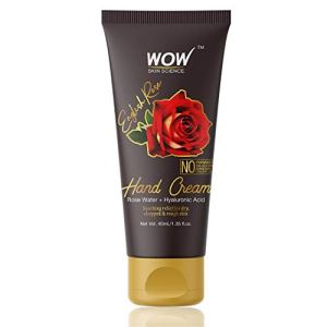WOW Skin Science English Rose Gentle Hand Cream With Rose Water + Hyaluronic Acid - No Parabens, Silicones, Mineral Oil, Color & Pg, 40 ml 3  WOW Skin Science English Rose Gentle Hand Cream With Rose Water + Hyaluronic Acid – No Parabens, Silicones, Mineral Oil, Color & Pg, 40 ml 41qpLM TDyL