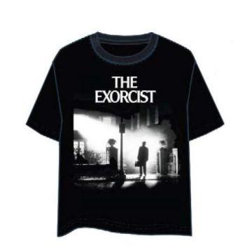 LAST LEVEL Camiseta el Exorcista Portada XL Camisa Cami, Adultos Unisex 3