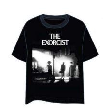 LAST LEVEL Camiseta el Exorcista Portada XL Camisa Cami, Adultos Unisex