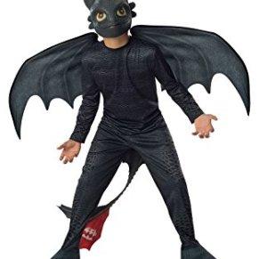 Desdentado - Furia Nocturna - Cómo entrenar a tu dragón 2 - Niños Disfraz - Medium - 132cm
