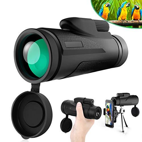 Telescopio Monoculare Tencoz 12x50 Zoom Monocolo Impermeabile BAK4 Prisma Professionale Potente...