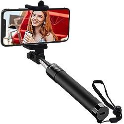 Kaufen Mpow Selfie Stick, iSnap X U-Form Selfie Stange Erweiterbar Selfie-Stick mit integrierter Bluetooth Fernauslöser,Selfie Stick mit Handgelenkband für IphoneX/8P/8/7P/7/6S/6/5S/IPHONE SE,Huawei Honor 8/9,Huawei P8/P10,Samsung S6/S7/S8/Galaxy A7,NUBIA Z11,OPPO R9,Redmi 4, MP3 Players usw.