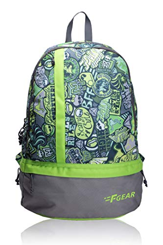F Gear Burner 20 Liters P2 Green Casual Backpack