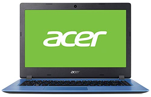 "Acer Aspire 1 | A114-32 - Ordenador portátil de 14"" HD (Intel Celeron N4000, 4 GB RAM, 64 GB eMMC, UMA, Windows 10 Home con S Mode & Office 365 Personal) Azul - Teclado QWERTY Español"