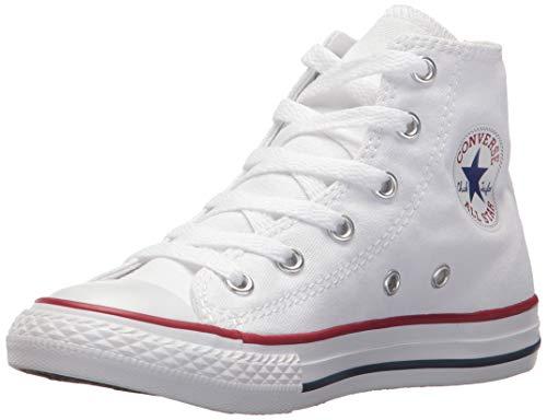 Converse, Chuck Taylor All Star Core Hi, Sneaker, Unisex - Bambino, Bianco, Taglia 25