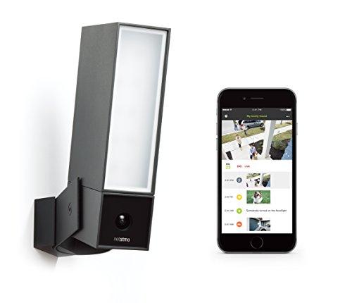 41r8OAvjUrL [Bon Plan Fibaro] Caméra de Surveillance Extérieure Intelligente avec éclairage intégré - Netatmo Presence