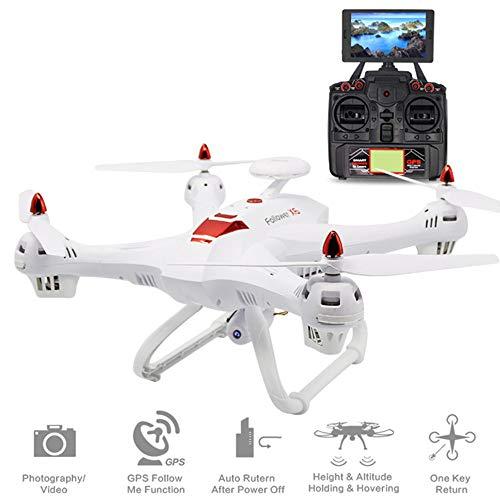 Drone, Grande 5G WiFi 1080P HD e GPS Ritorno a casa aeromobili a Quattro Assi con Regolabile Wide-Angolo Telecamera WiFi Follow Me, Drone altitudine,1