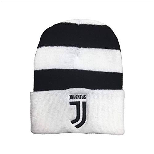Berretta Ufficiale Juventus 2018 2019 Nuovo Logo Strisce Bianconere Adulto Prodotto Ufficiale
