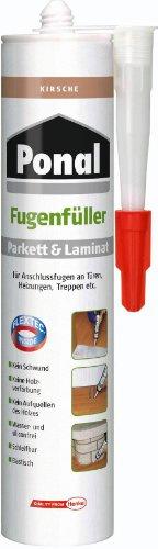 Ponal 1026853 - Mastice per riparare parquet e laminato, effetto ciliegio, 280 ml