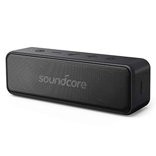 Anker Sound Core Motion B altoparlante Bluetooth portatile, design compatto con 12W stereo Sound e forte bassup tecnologia, 12ore di durata della batteria, IPX7impermeabile