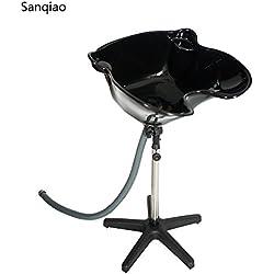 Sanqiao Shampoo Ciotola Lavabo con Scarico Capelli Salon Portable Shampoo Spa Profondo Capelli Salone di Attrezzature