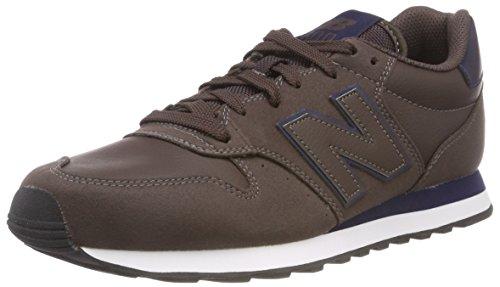 New Balance 500, Zapatillas para Hombre, Marrón (Dark Brown Dark Brown), 42.5 EU