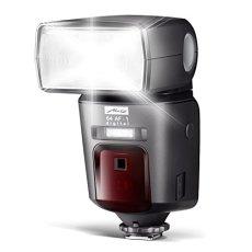Metz Mecablitz 64 AF-1 digital - Flash con zapata para Olympus-Panasonic, negro