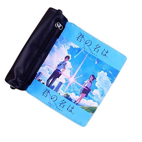 ALTcompluser Anime - Astuccio per ragazze ragazzi teenager, astuccio per la scuola, scrivania e...