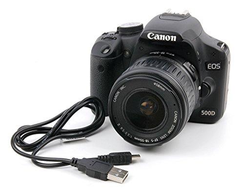 Cavo USB per fotocamera SLR Canon EOS 1D X | 5DS R | 5DS | 5D | 550D | 6D | 600D | 60D | 7D | 760D |...
