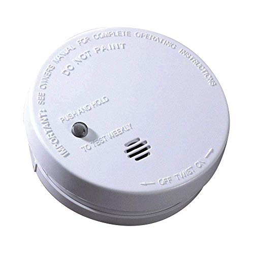 Kidde Smoke Detector with Alarm Battery-Operated UL-Listed