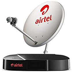 Airtel Digital TV SD Set Top Box with 1 Month Regional Pack