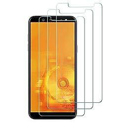 Kaufen [3 Stück] Panzerglas schutzfolie für Samsung Galaxy A6 2018, gehärtetes Glas Displayschutzfolie, Easy Install Kit, 9H gehärtetes Glas, Antikratz, Bläschenfrei, Glas 0.33mm, HD-Klar, Anti-Bläschen, Transparent