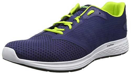Asics Patriot 10 Zapatillas de Running Hombre, Multicolor (Deep Ocean/Flash Yellow 400), 42.5 EU