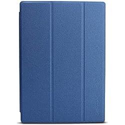 Daesar Funda iPad Cuero Fundas de iPad 2018 Protectoras Carcasas iPad Azul Carcasa para iPad Compatible para 10.1 Inch Teclast P10 Octa Core Tablet PC