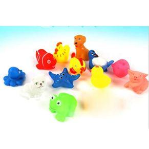 TOYANDONA Doce bañeras para bebés Animales,Juguetes interesantes para bañeras,Juguetes flotantes,duchas,Juguetes para…