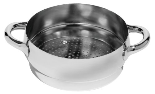 Alessi - SG307 - Mami cestello per cotture al vapore in acciaio inossidabile 18/10 lucido.