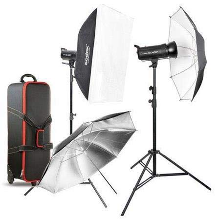 Godox sk400ii 800 W 2.4 G Photography Studio Flash Strobe Kit Two 400 W sk400ii Monolight Lighting