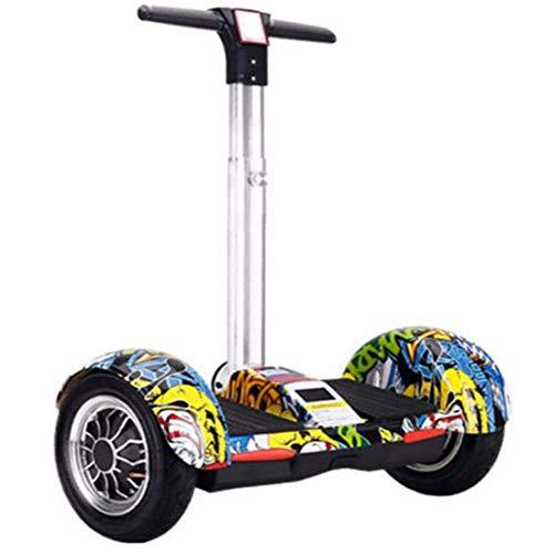 Quino Hoverboard Electtrico bilanciamento Automatico Monopattino con Manubrio Scooter elettrici...