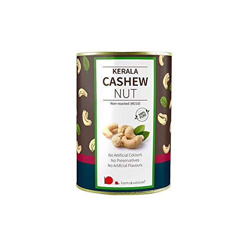 Looms & Weaves - Premium Quality Non-roasted Cashew from Kerala - (500 gm)