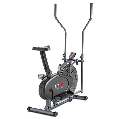 Fitfiu Fitness ORB2000S Vélo elliptique d'entraînement Noir