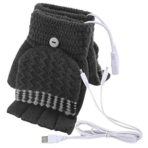 Guanti da Uomo riscaldati USB da Donna Guanti scaldamani USB Guanti Invernali riscaldanti per Dito...