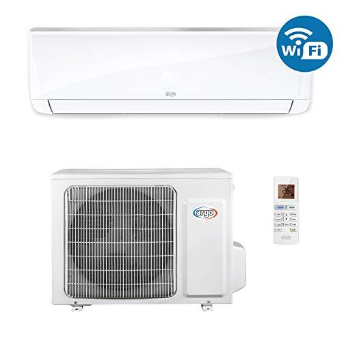 ARGO Ecowall 12 Climatizzatore Fisso, DC Inverter, con WiFi, Bianco, 12000 BTU/h
