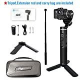 Feiyutech G6 handheld gimbal for Gopro hero6/5/4 with WiFi and App controll, Including Tripod and Extension Rod