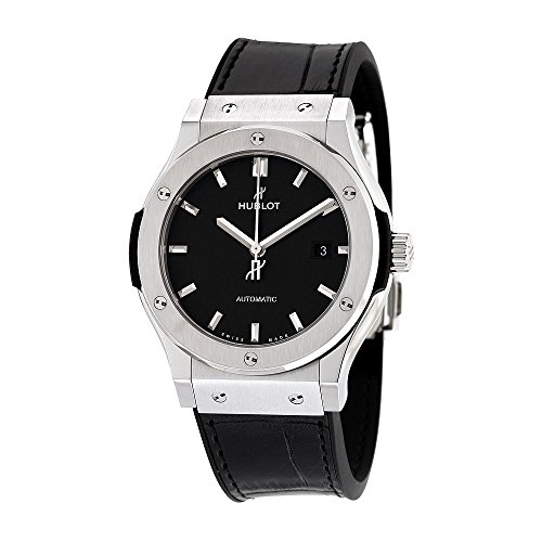 Hublot Classic Fusion Automatische schwarz Zifferblatt Titan Herren-Armbanduhr 542nx1171lr
